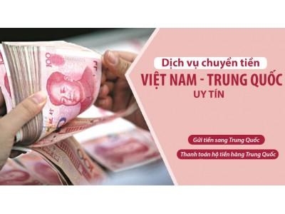 Chuyển tiền từ Việt Nam sang Trung Quốc
