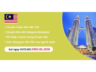 Chuyển tiền sang Malaysia