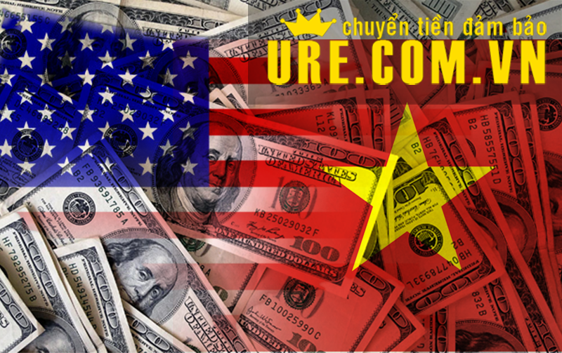 Chuyển tiền nhanh từ việt nam qua mỹ (USA)